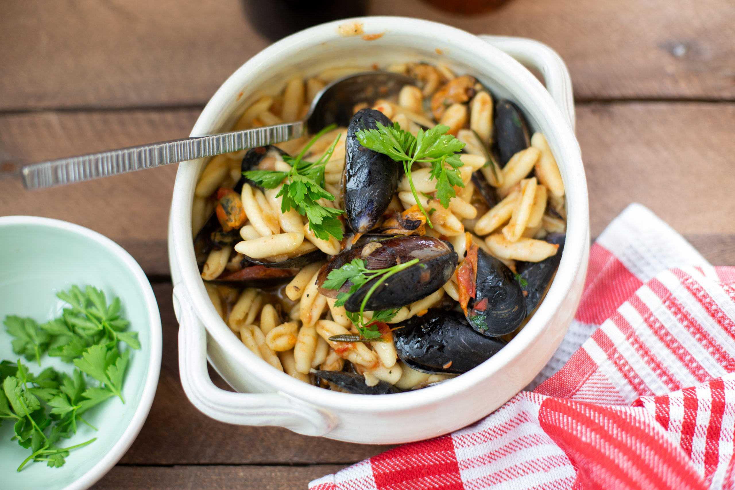 CAVATELI WITH MUSSELS 2.